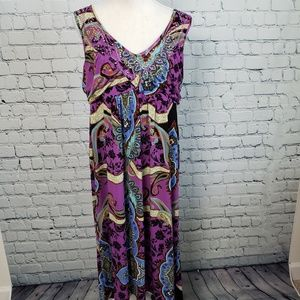 One World Sleeveless Maxi Dress